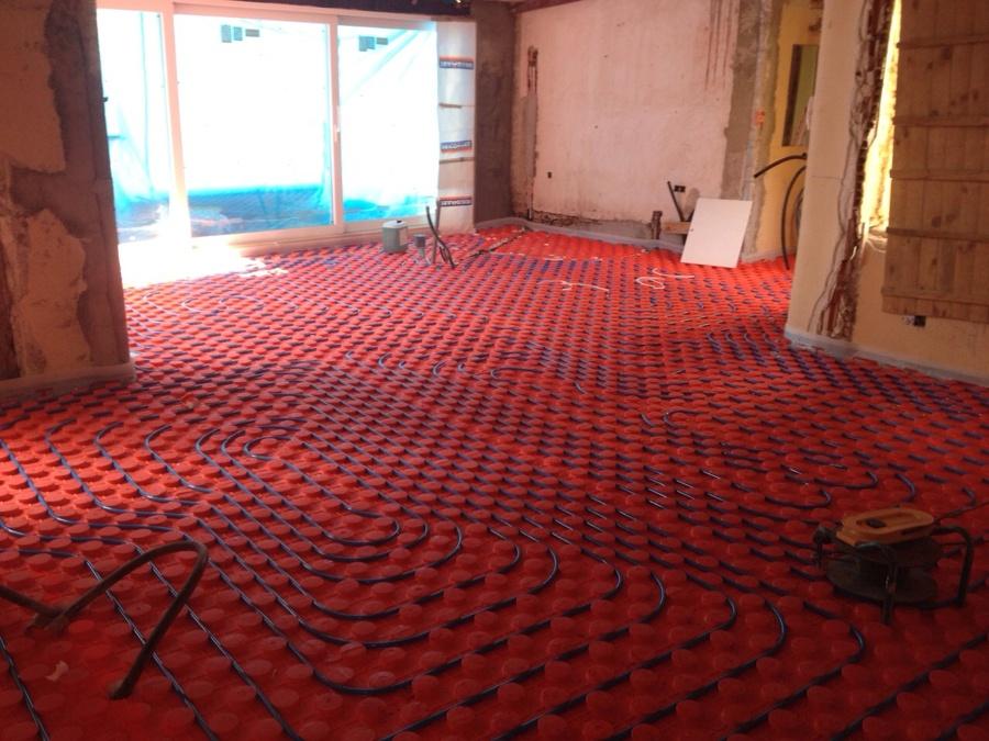 Instalacion de suelo radiante ideas calefacci n - Instalacion suelo radiante ...