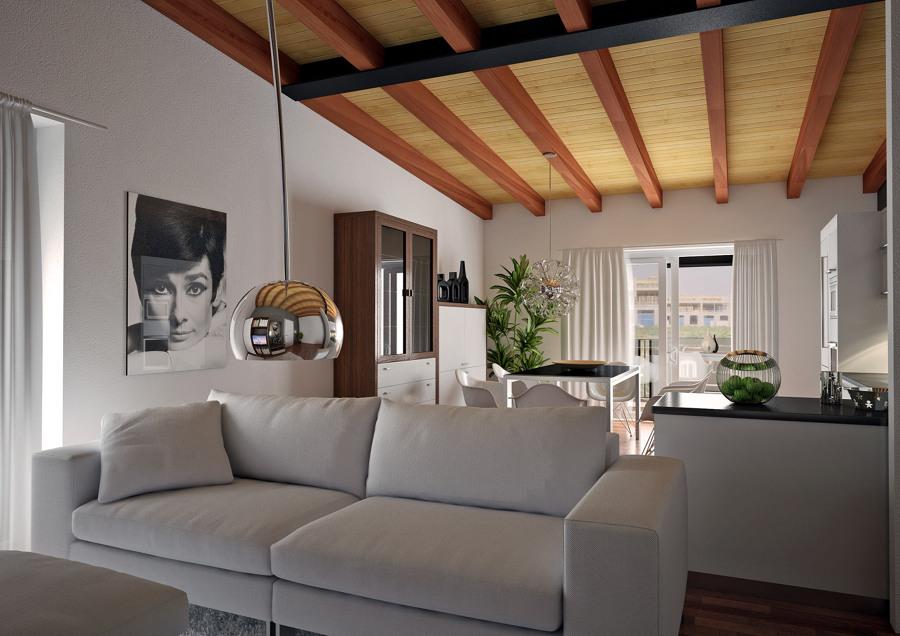 salones y comedores varios proyectos interiorismo 3d - Interiorismo Salones