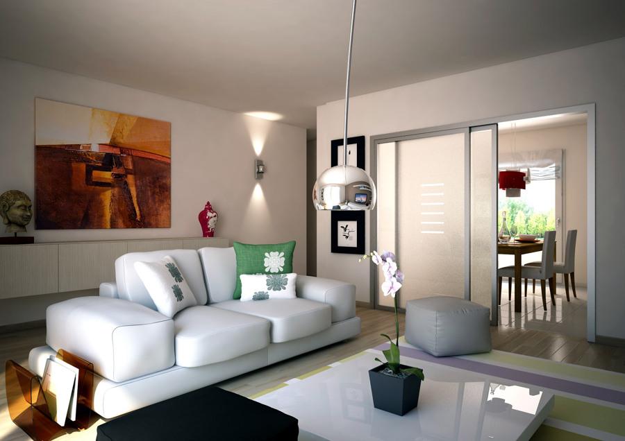 Foto salones y comedores varios proyectos interiorismo - Interiorismo salones modernos ...