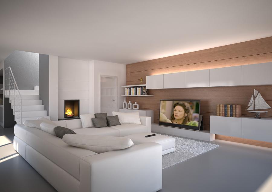 Foto salones y comedores varios proyectos interiorismo - Interiorismo salones ...