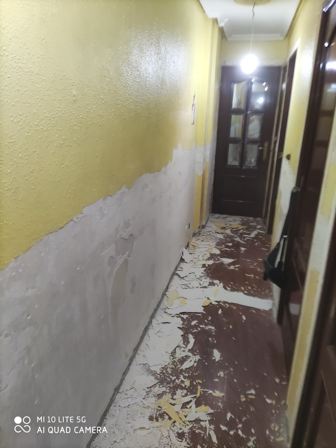 Saneado de pasillo
