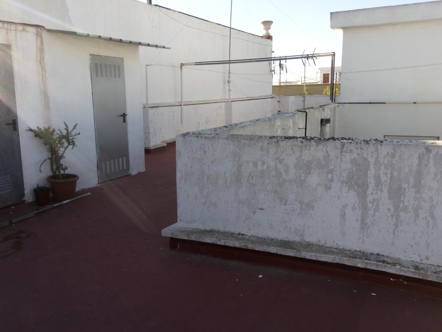 Saneado de terraza.