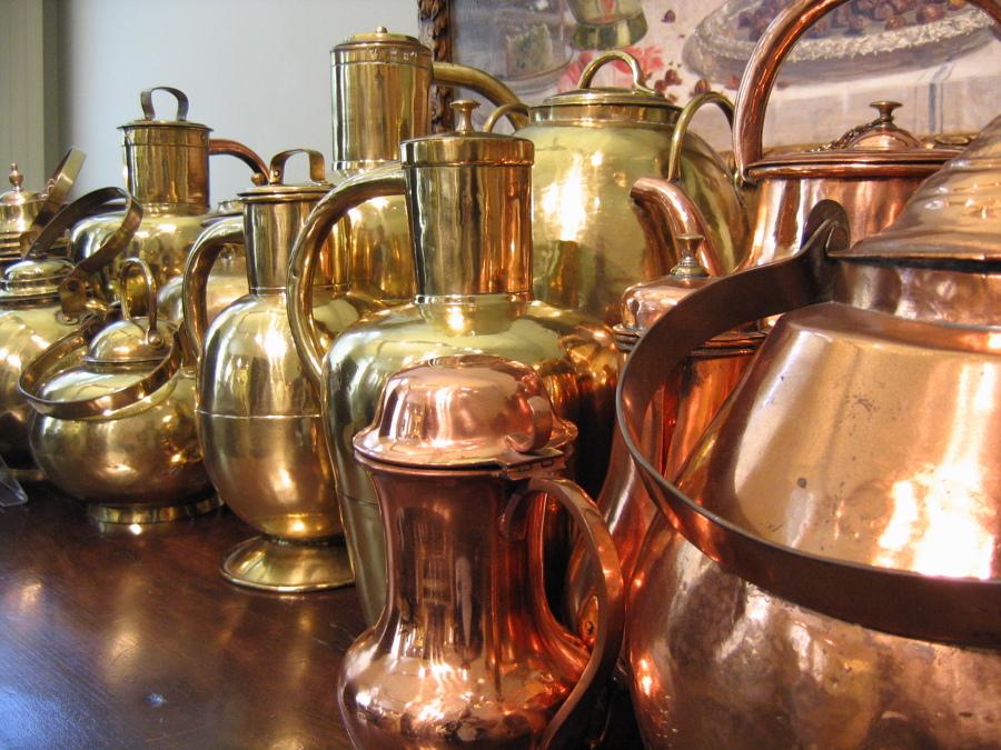 C mo limpiar ollas de cobre ideas limpieza - Limpieza de cobre ...