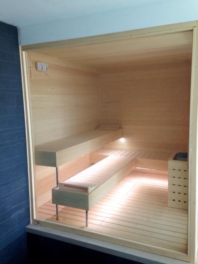 Obra en las lomas en marbella ideas construcci n piscinas - Como hacer una sauna ...