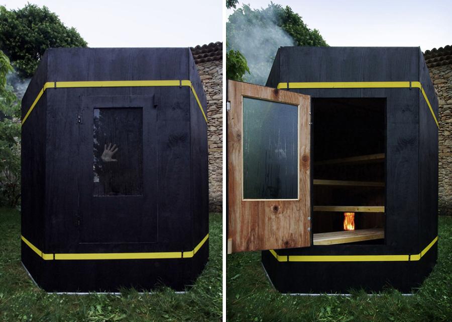 Sauna-hexagonal