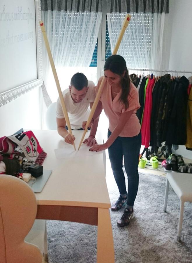 cristina pedroche se casó en su vestidor
