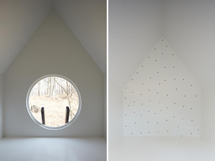 interior casa pájaros