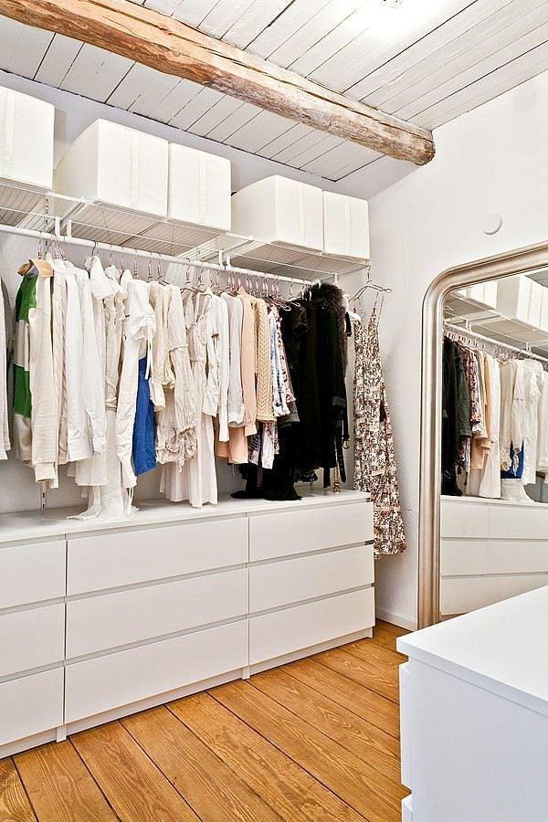 5 ideas para montar un vestidor en casa ideas decoradores - Cortinas para armarios sin puertas ...