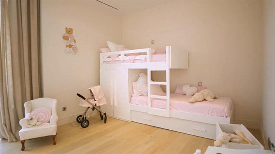 habitación infantil rods