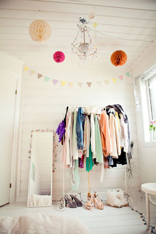 vestidor colorido