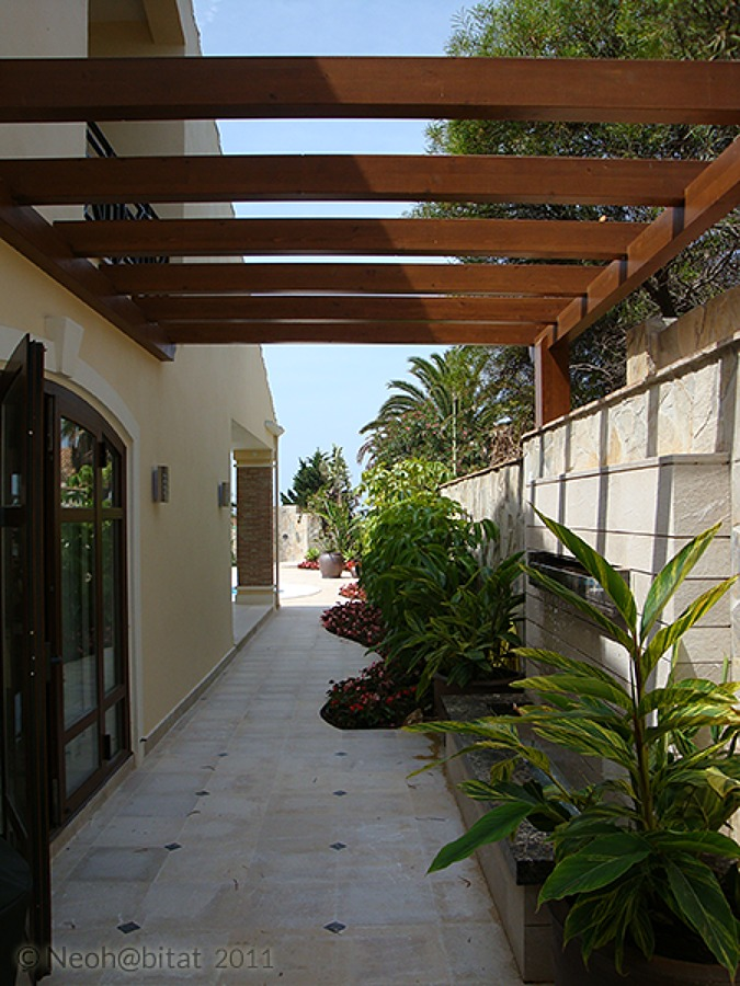 Sector oeste de la parcela en Vivienda Ampliada en Marbella