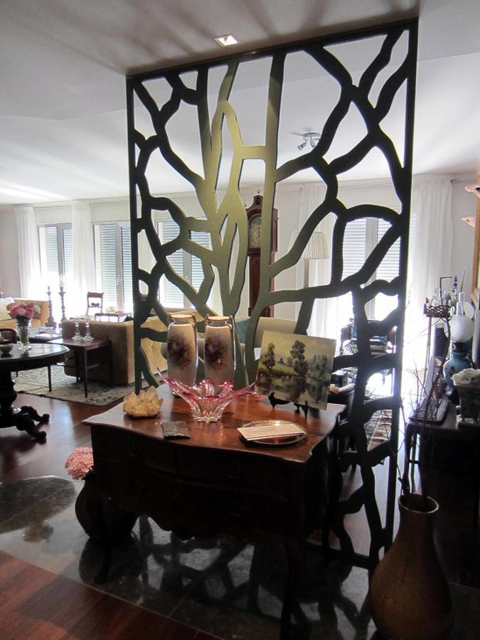 Foto separador de ambiente en celos a de andaluciart for Celosias para interiores