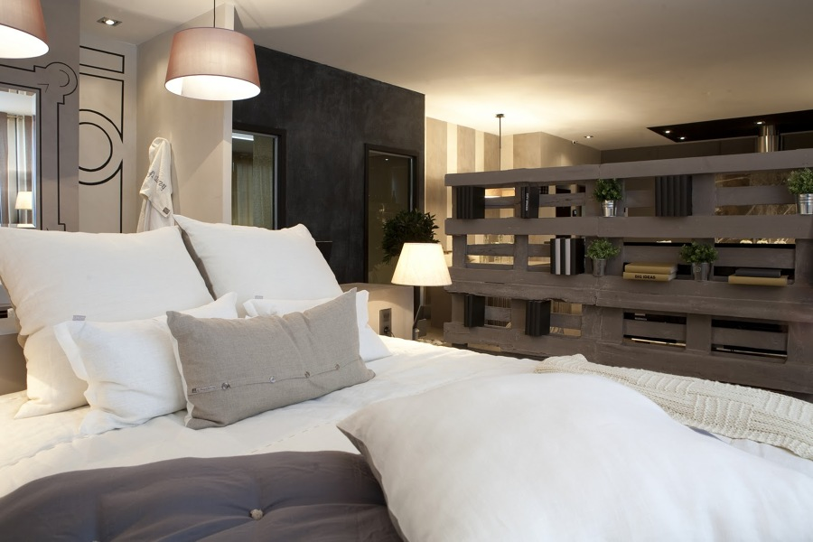 Descubre c mo separar ambientes de manera f cil y c moda - Muebles separadores de espacios ...