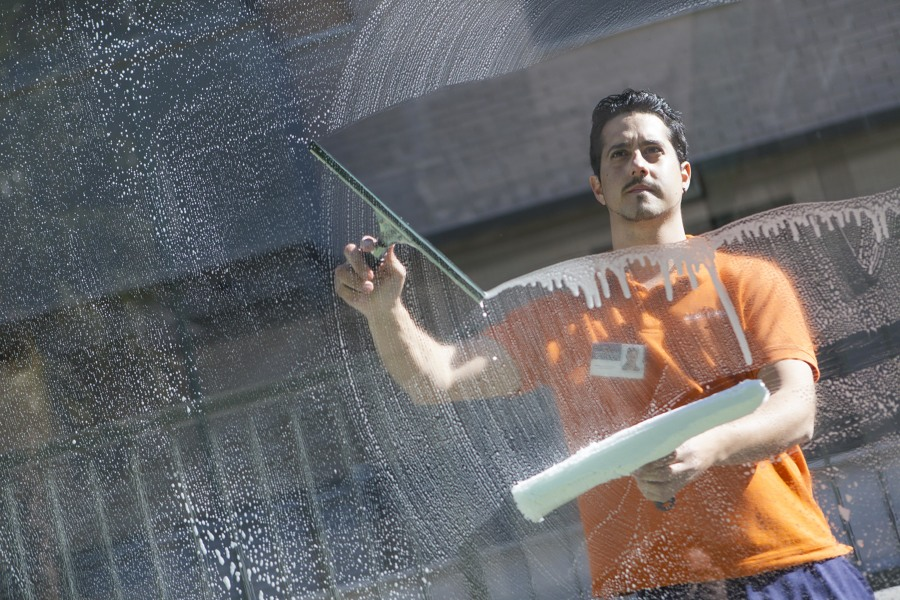 Servicio Limpieza de Cristales Zonas Comunes