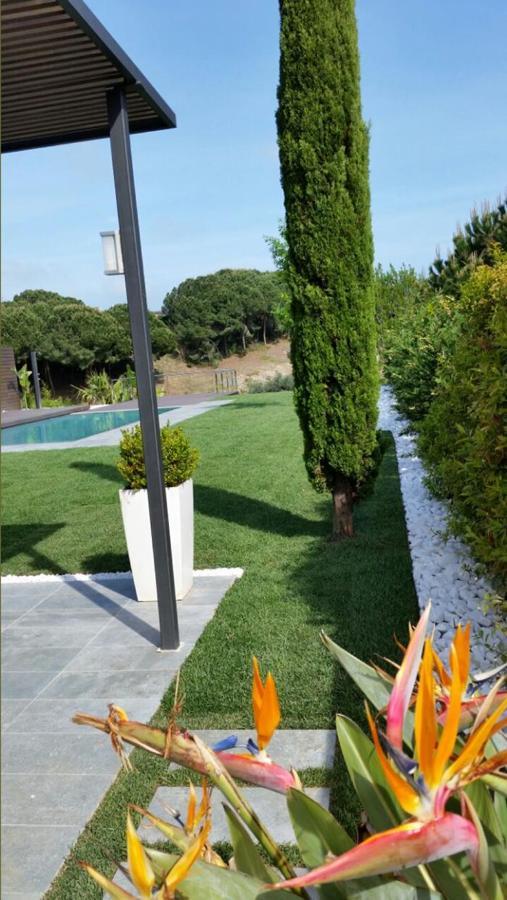 vistas desde pasillo lateral de acceso al jardín