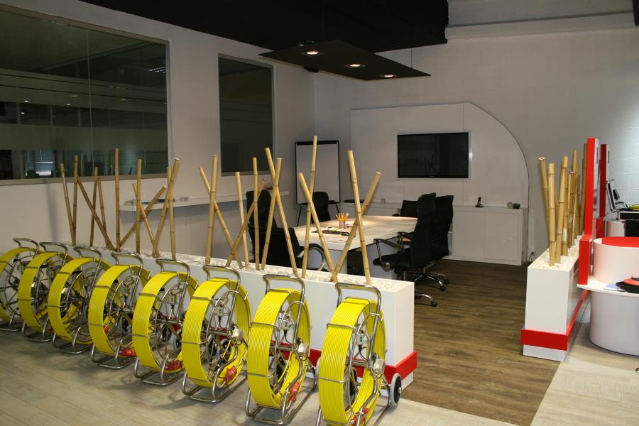 Show room materiales construcción
