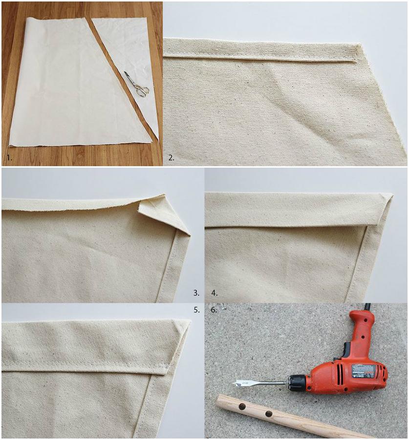 paso 1 para hacer una silla colgante