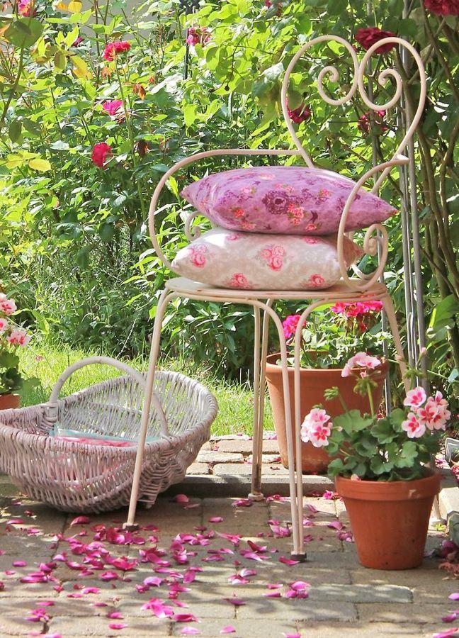 Renueva las sillas de tu terraza por muy poco dinero for Jardines vintage