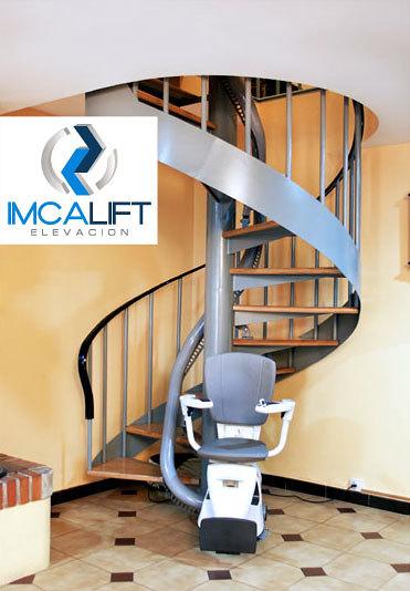 Silla salvaescaleras para escalera de caracol proyectos for Escaleras dielectricas precios