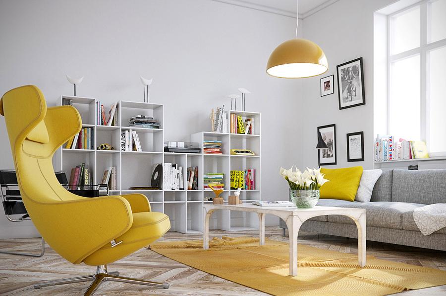 El Amarillo Energ 237 A Positiva En Tu Hogar Ideas Decoradores