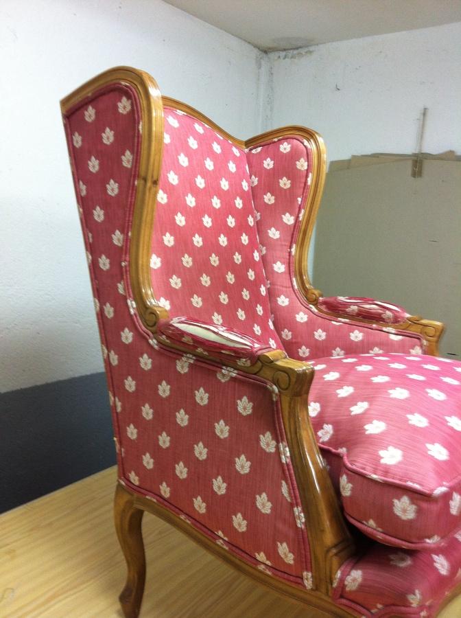 Foto sill n luis xv de tapicero y punto 649035 habitissimo - Tapiceros en fuenlabrada ...