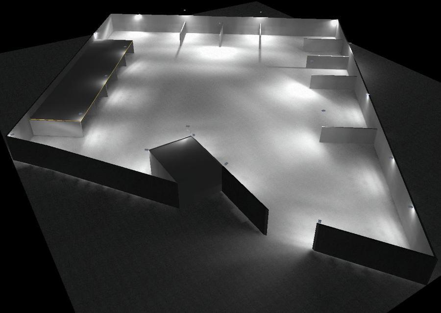 Simulación lumínica.
