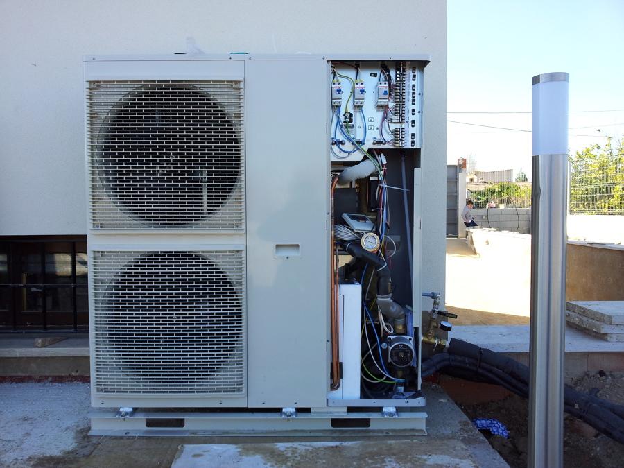 Instalaciones murcia ideas aire acondicionado - Bomba de frio para suelo radiante ...