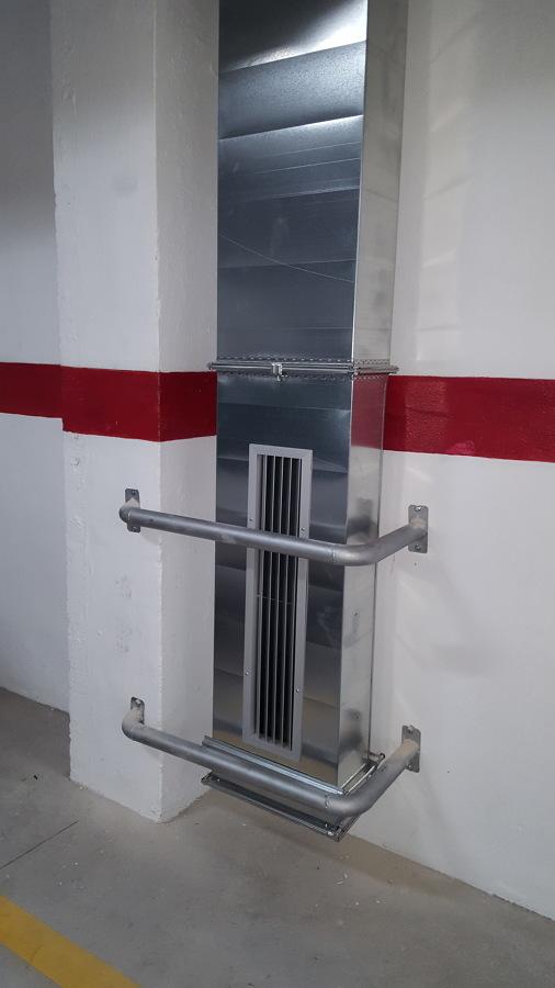 sistema de extraccion de humos
