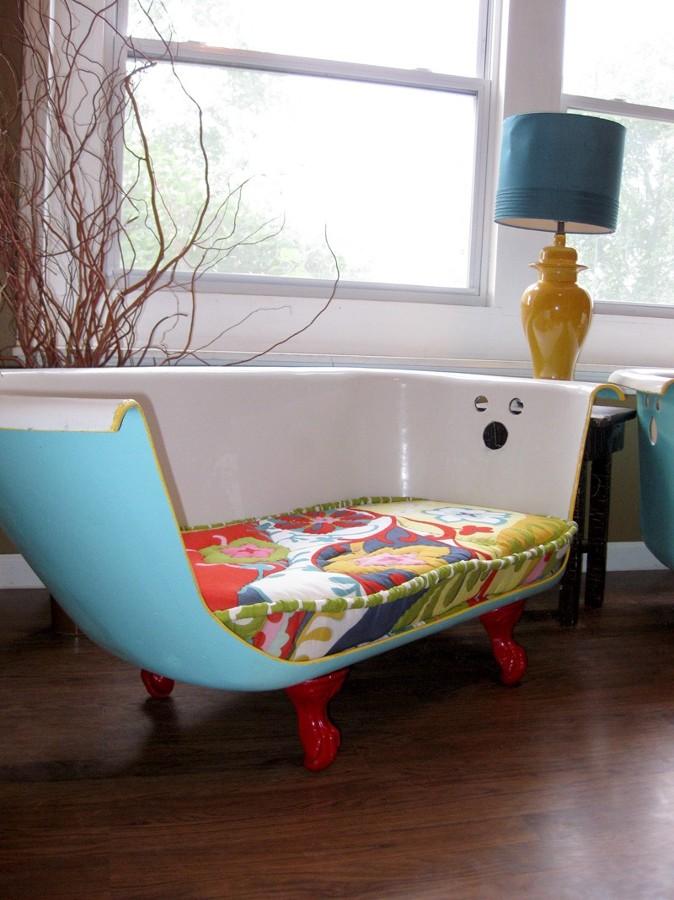 sofá bañera