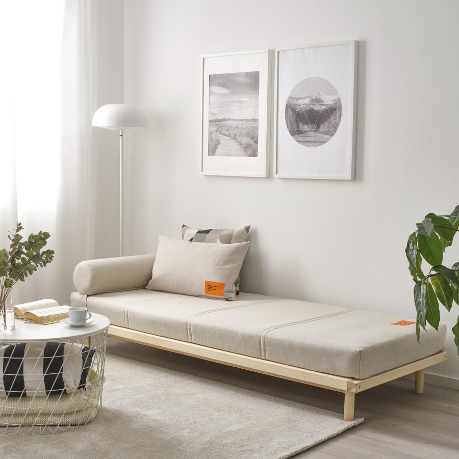 Sofá-cama MARKERAD: La nueva colección limitada de IKEA en colaboración con Virgil Abloh