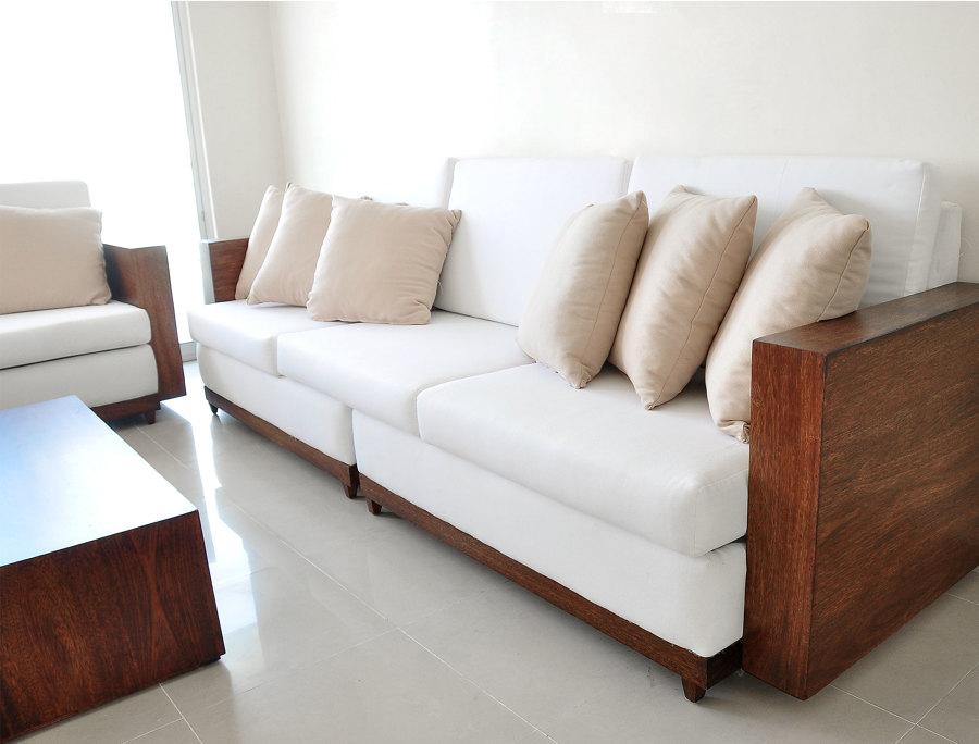 Sofá de la segunda sala de estar