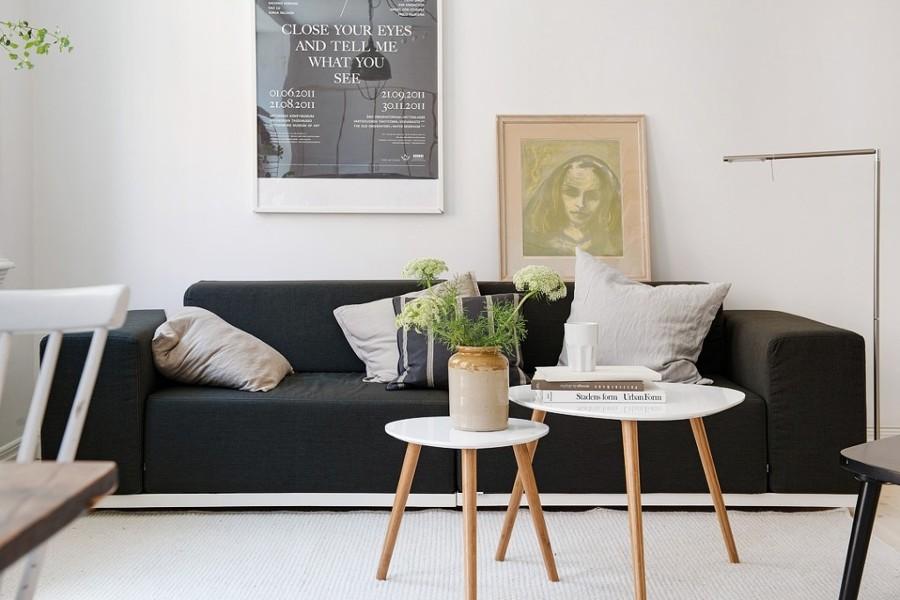 Foto sof estilo n rdico de boho chic 841230 habitissimo for Sofa estilo romantico