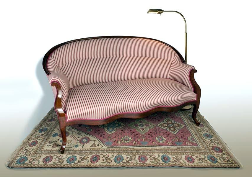 Sofa isabelino cl sico ideas tapiceros for Sofas clasicos precios