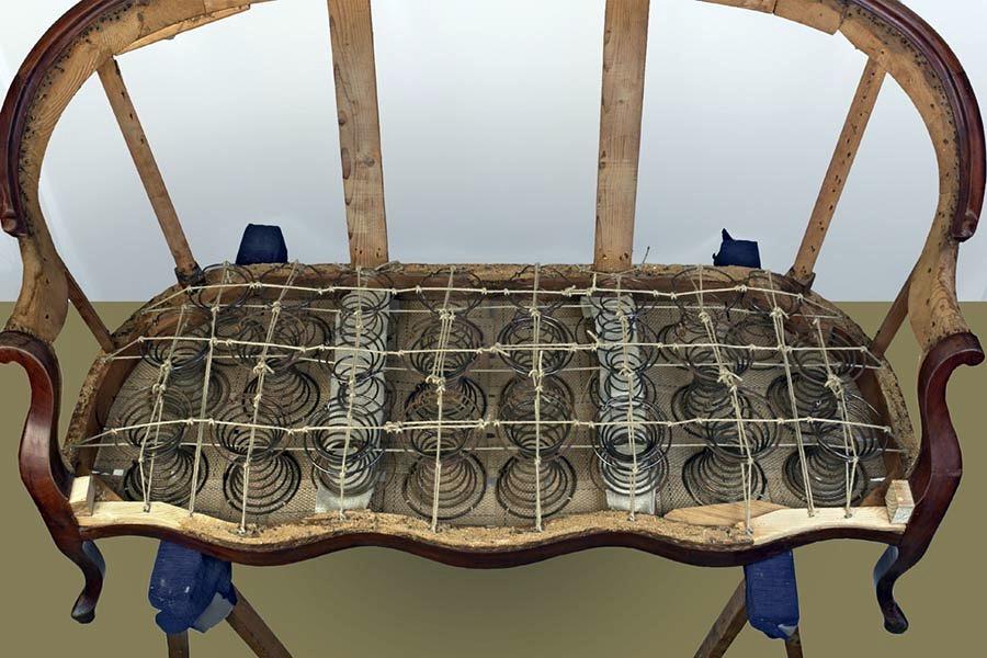 Foto sofa isabelino clasico de tapicer a pons 259404 - Tapiceros en malaga ...