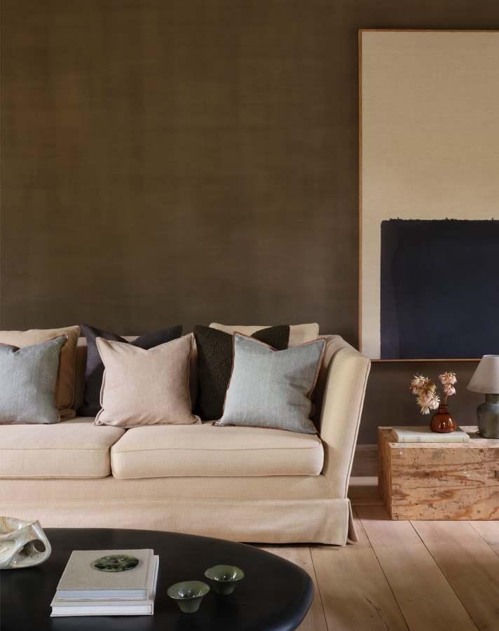 Sofá y cojines de Zara Home