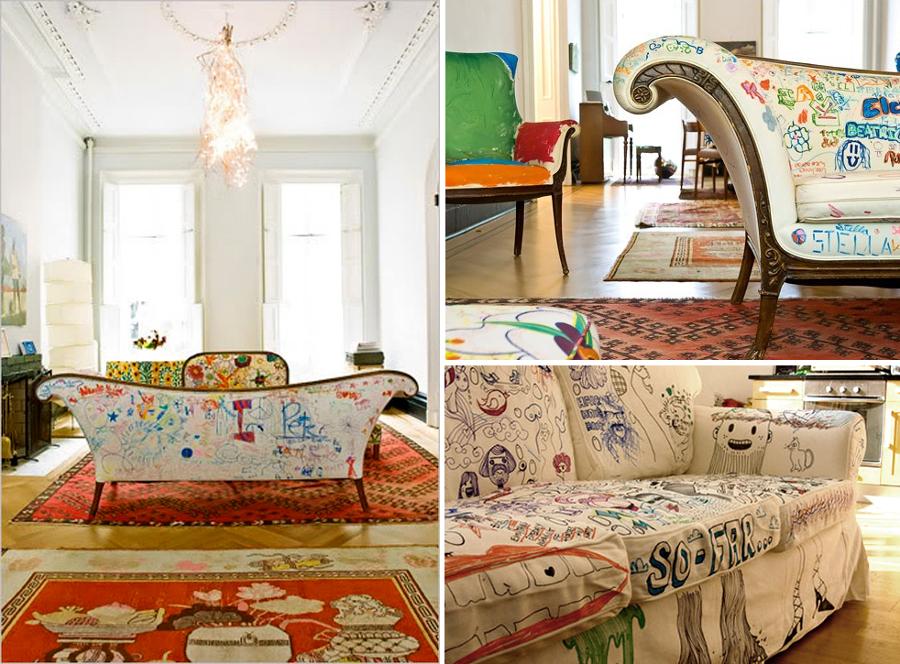 Convierte tu vivienda en la casa de un artista ideas for Muebles ninos segunda mano
