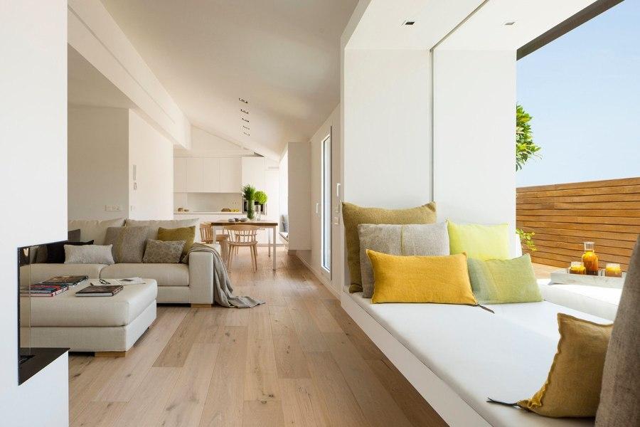 Sofas tapizados de lino