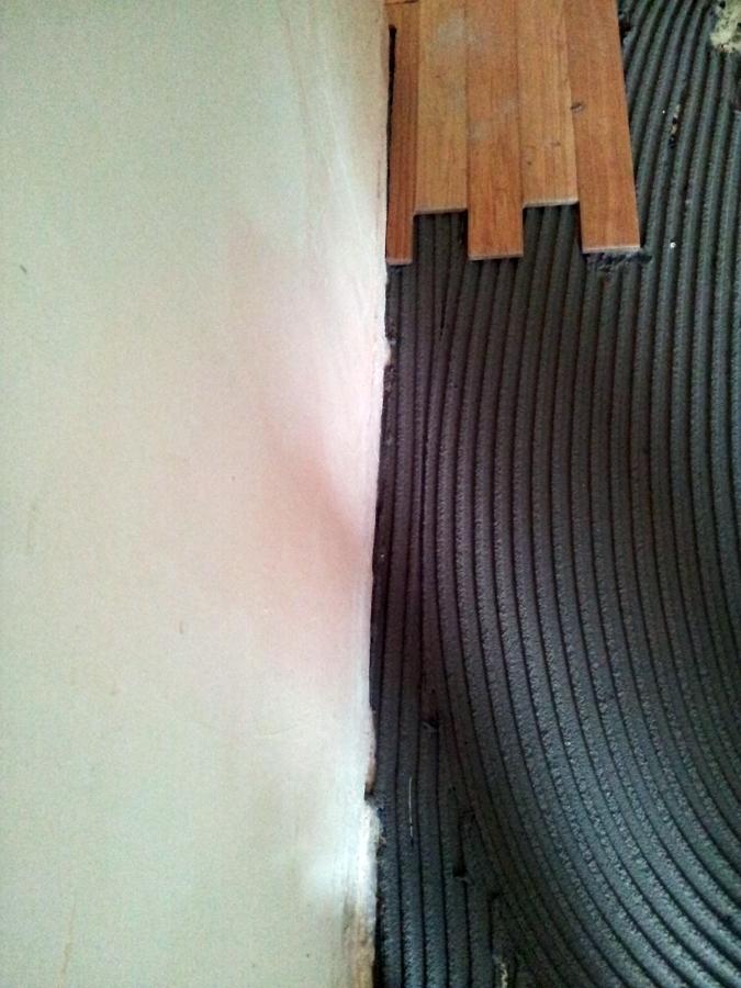 Foto soler a porcel nico imitaci n madera de ag interiorismo 380330 habitissimo - Soleria imitacion madera ...