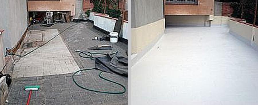 Pavimentos especiales e impermeabilizaciones ideas - Rampas de garaje ...