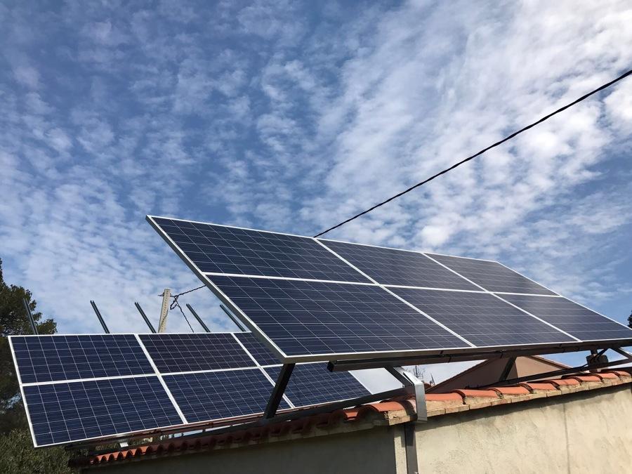 Soportacion de modulos fotovoltaicos