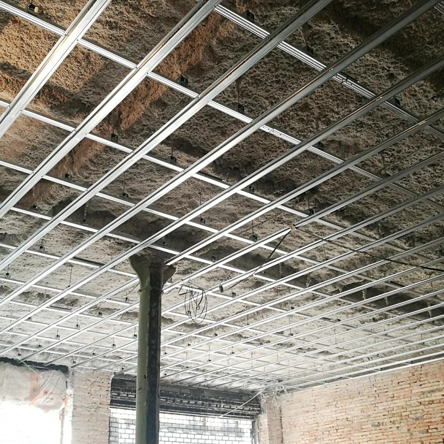 Soporte para techo acústico