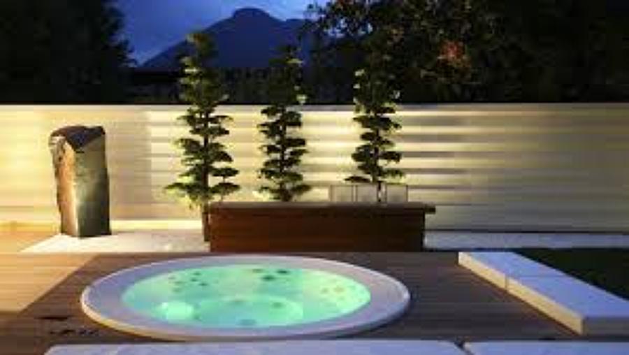 Spa en terraza