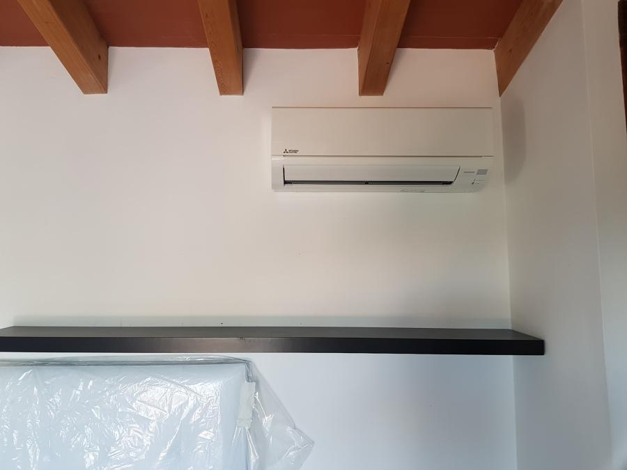Split aire acondicionado habitacion