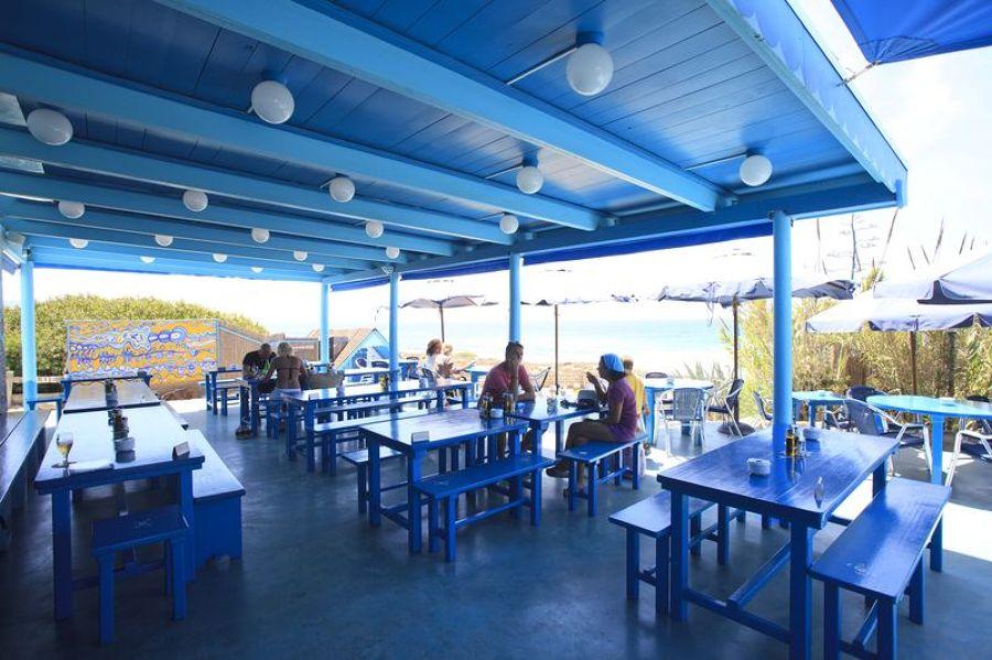 blue bar chiringuito
