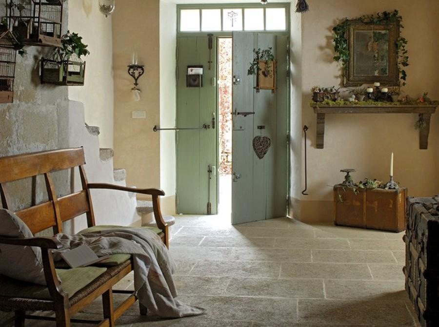 entrada estilo provenzal