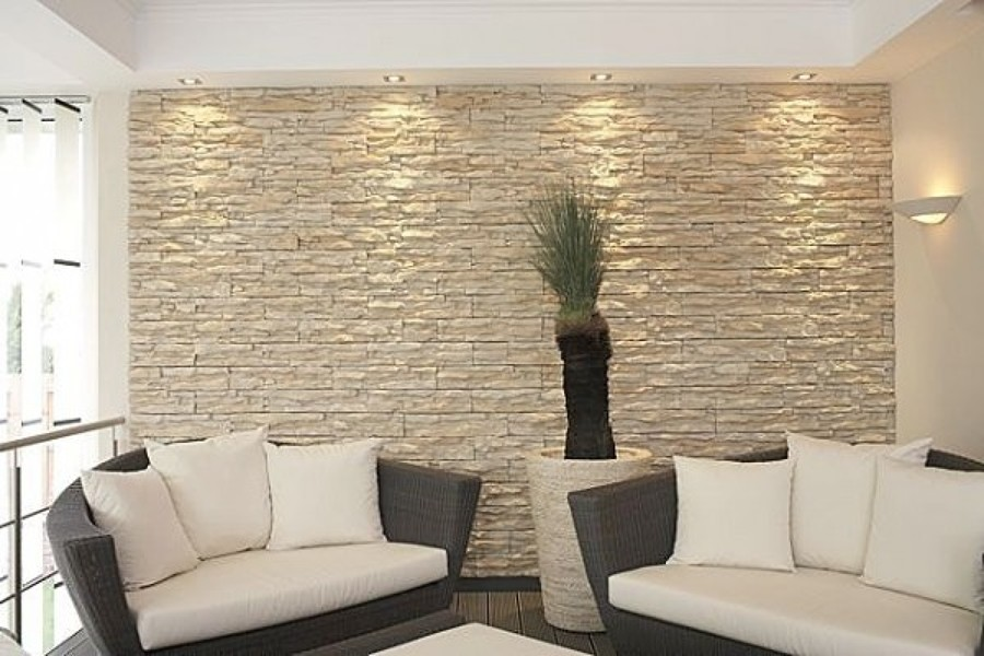 C mo decorar con revestimiento de piedra ideas decoradores for Piedra barata para paredes