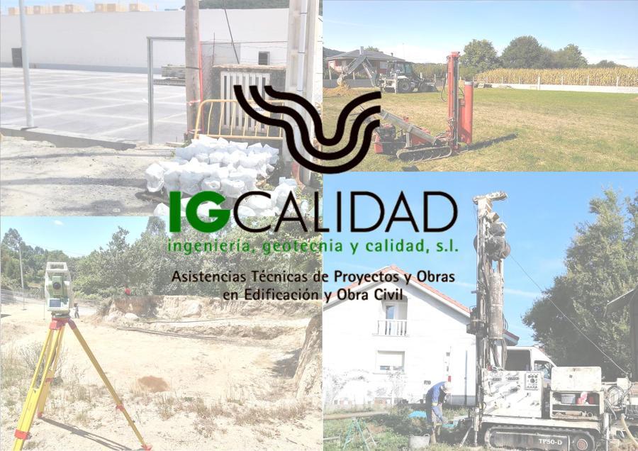 STUDIOS GEOTÉCNICOS+LEVANTAMIENTOS TOPOGRÁFICOS+CONTROL DE CALIDAD GALICIA_IG CALIDAD S.L.