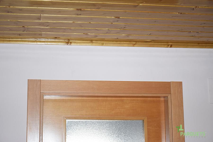 Sube la madera al techo ideas parquetistas - Parquets tropicales ...