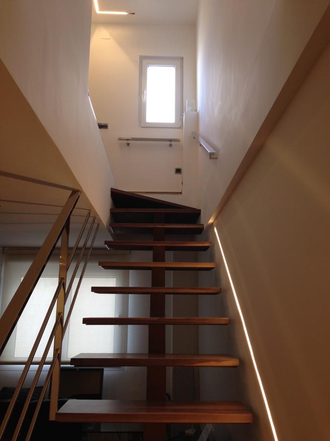 Subida de escaleras