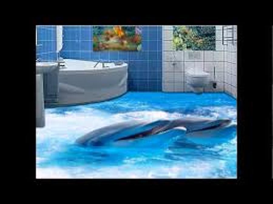 suelo 3d baño